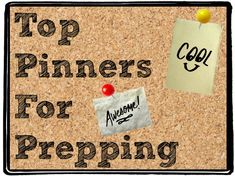Top Preppers on Pinterest. Our first post in March was wildly popular and helpful, so we created a new list of preppers we recently found.