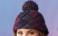 Free Knitting Pattern - Basket Weave Hat by Patons   MakeitCoats.com - Looks hard but I will give it a go.
