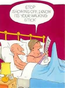 Us when we are old! I could so see you doing that, and then we would be laughing our ass off! We'll prob. be high!