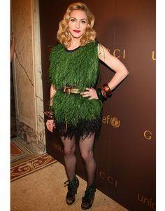 Madonna in Louis Vuitton in 2008   - HarpersBAZAAR.com