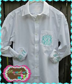 Monogrammed Bridal Getting Ready Dress by PersonalizedbyPriss, $45.00