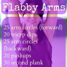 No More Flabby Arms Workout