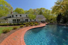 """Fabulous Spanish Revival With Pool"" Shelter Island - Hamptons Real Estate"