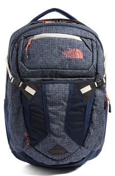 Main Image - The North Face 'Recon' Backpack Mom Backpack, North Face Backpack, Cute Backpacks For School, Trendy Backpacks, College Necessities, School Essentials, North Face Outfits, School Accessories, School Bags