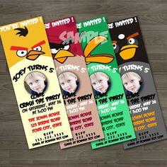 Angry Bird Invites