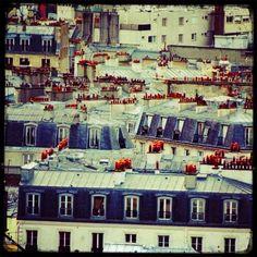 Paris rooftops www.lepetitparistravelplanning.blog.com