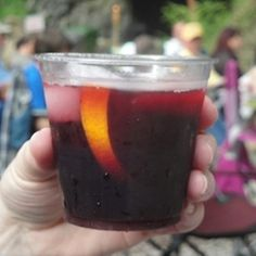 3 Caves Sangria: Fruity red wine with brandy, grand marnier and fresh fruits.