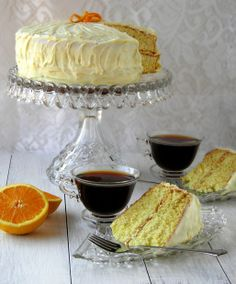 Orange Cake with Orange Cream Cheese Frosting | Dulce Dough Recipes  http://www.dulcedough.com/2011/07/orange-cake-with-orange-cream-cheese.html#