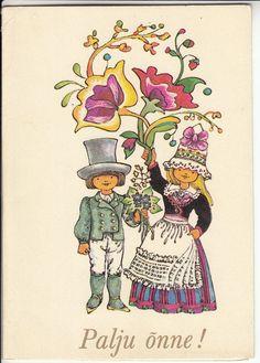 1983 E. Toot, Postcards, Greeting Card