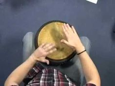 One of the best djembe lessons I've seen so far. He uses words to teach rhythm (good for Orff!)