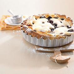 Brombeer-Quark-Kuchen