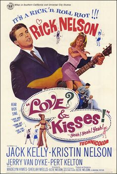 Love Kisses (1965) starring Rick Nelson