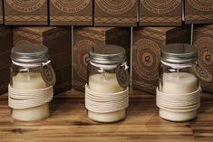 Eden Collection Scented Jar Candle with Lid #Eden #candle #jar #homedecor #aromatherapy #giftware