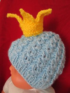 For your little prince 0345 month  Ready to ship by Ritaknitsall, $22.00