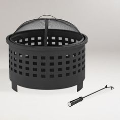 One of my favorite discoveries at WorldMarket.com: Hudson Fire Pit $189