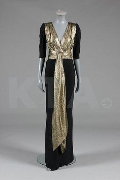 Dress  Yves Saint Laurent, 1980s  The Goldstein Museum of Design