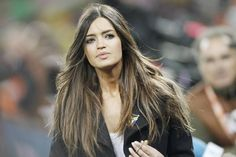 Sara CarboneroSara Carbonero is a Spanish TV sports anchor, journalist and perfect 10. Spain's goalie Iker Casillas is currently in a relationship with the Spanish beauty. Who says goalies can't score??