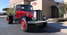 This 1939 Peterbilt 260 was the first-ever complete Peterbilt built for a trucking company. It was just one of 15 made that year.