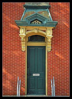 French Provincial doorway, in Millersburg, Ohio~ photo by sjb4photos, via Flickr