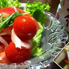 超簡単サラダ - 119件のもぐもぐ - 簡単トマトサラダでヘルスぃ〜♪ by bko3103