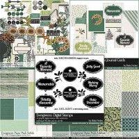 Evergreens Scrapbook Collection