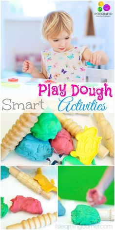 The Best Hands-on Activities to Build Your Child's Fine Motor Skills | ilslearningcorner.com #playdoughactivities #playdough