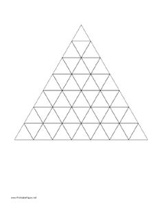 Graph Paper With Triangular Grid Allows You To Graph Along Three Axes. Free  To Download