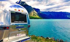 Adventure is out there. Airstream Camping, Airstream Living, Airstream Trailers, Adventure Time, Places To Travel, Camper, Food Trucks, Wanderlust, Life