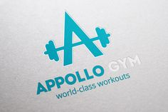APPollo Gym Logo by Sargatal 2 on Creative Market