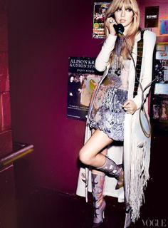 Taylor Swift in Feb. Vogue