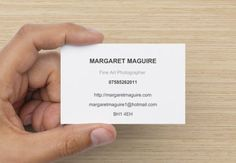 Personalise Your Standard Business Card