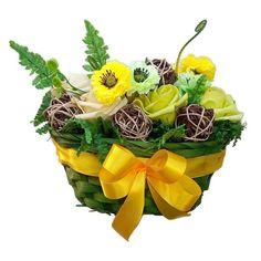 Tavaszi asztaldísz selyemvirágokkal - Szárazvirág díszek webáruháza Plants, Plant, Planets