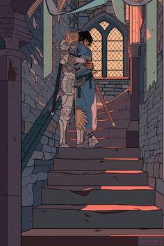An illustration portfolio. Norman Rockwell, Pretty Art, Cute Art, Character Inspiration, Character Art, Ligne Claire, Image Manga, Aesthetic Art, Oeuvre D'art