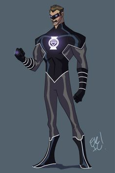 Black Lantern Hal by *EricGuzman on deviantART