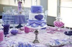 Ivan M's Birthday / Sofia the First - Photo Gallery at Catch My Party Princess Sofia Party, Sofia The First Birthday Party, First Photo, First Birthdays, Party Ideas, Table Decorations, One Year Birthday, Ideas Party, Dinner Table Decorations