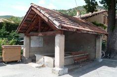 Lavoir de Bayons  Alpes-de-Haute-Provence (04)