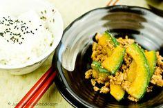 Kabocha Pork Stir Fry | Easy Japanese Recipes at JustOneCookbook.com