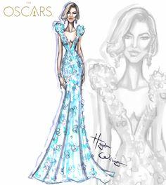 Oscars 2016 by Hayden Williams Cate Blanchett in Armani PrivéJennifer Garner in Atelier VersaceCharlize Theron in DiorLeonardo Dicaprio in Armani