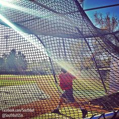 Taking some swings with some of the guys at OCC. #Baseball