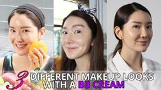 How to Wear BB Cream for 3 Different Makeup Looks