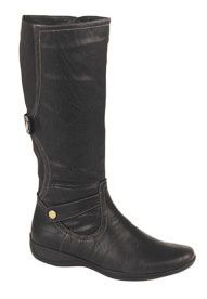 Black Mid Calf Vegan Boots - Womens vegetarian Boots - Alternative Stores. These are even more reasonably priced!!!