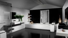 salle de bains comtemporaine - Google Search