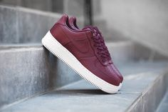 02473712cb Look Out For The NikeLab Air Force 1 Low Maroon • KicksOnFire.com