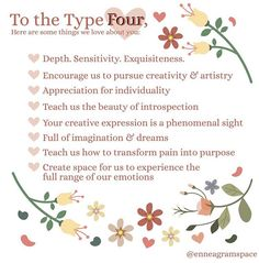 Enneagram Personality Test, Type 4 Enneagram, Infp Personality Type, Relationship Psychology, Interpersonal Relationship, Love People, Isfp, Archetypes, Recovery