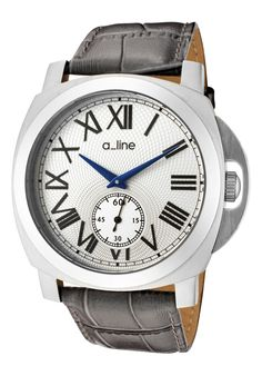 Price:$115.00 #watches a_line 80007-02-GR, a_line's pyar collection (which means love in Hindi) follows a_line's philosophy of bringing women the same quality and luxury of watches that men have been getting for years at a value. To that end a_line allows women to wear a large timeless watch that has a feminine touch. Your husband will be jealous.