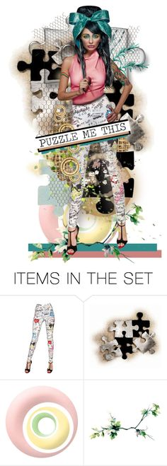 """""""Puzzle Me This"""" by diane-888 ❤ liked on Polyvore featuring art"""