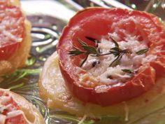 Tomato Tarts recipe from Paula Deen via Food Network