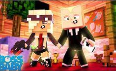 O DIA EM QUE O PODEROSO CHEFINHO COMEÇOU A NAMORAR! ( The Boss Baby Minecraft )