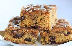 Cookie Recipes, Dessert Recipes, Bar Recipes, Yummy Recipes, Cornbread Cake, Depression Era Recipes, 9x13 Baking Pan, Man Cookies, Cookie Bars