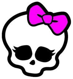 Hoje vou mostrar algumas das caveirinhas (e outros PNG's) da Monster High. Créditos ao Stuff Monster High .                                 ...